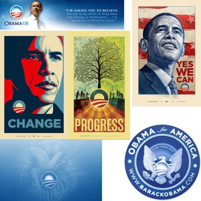 Creepy Obama Imagery